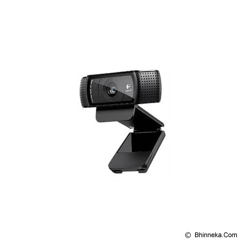 LOGITECH HD Pro Webcam C920 [960-000770] - Web Cam Clip-On